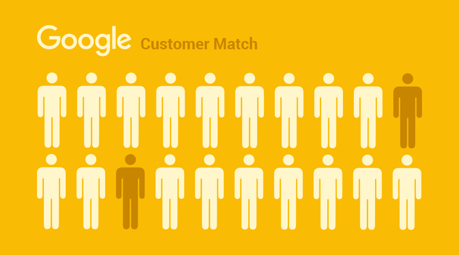 Customer Match Audience: Google ajoute des critères d'audiences