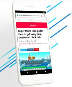 AMP Google vitesse mobile