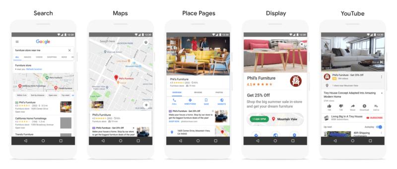 Campagnes Locales Google