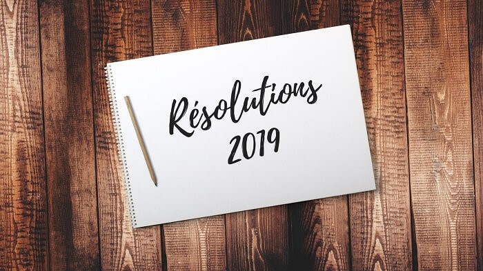 Resolutions marketing pour 2019