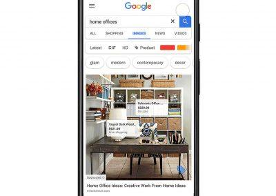 La publicité arrive sur Google Images avec les «shoppable ads»