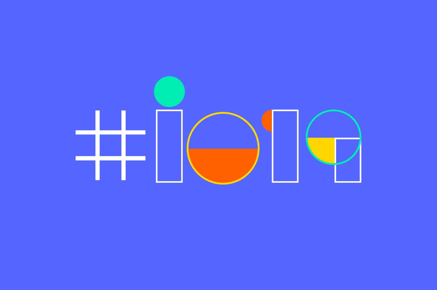 logo de la conférence Google I/O 2019
