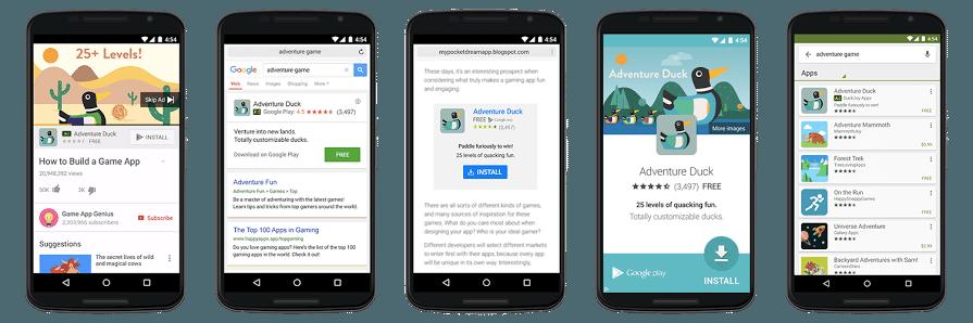 In-App Actions : incitez vos utilisateurs à effectuer des actions précises grâce aux UAC de Google