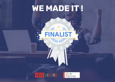 Google Premier Partner Awards 2019 : Adsvisers parmi les finalistes !